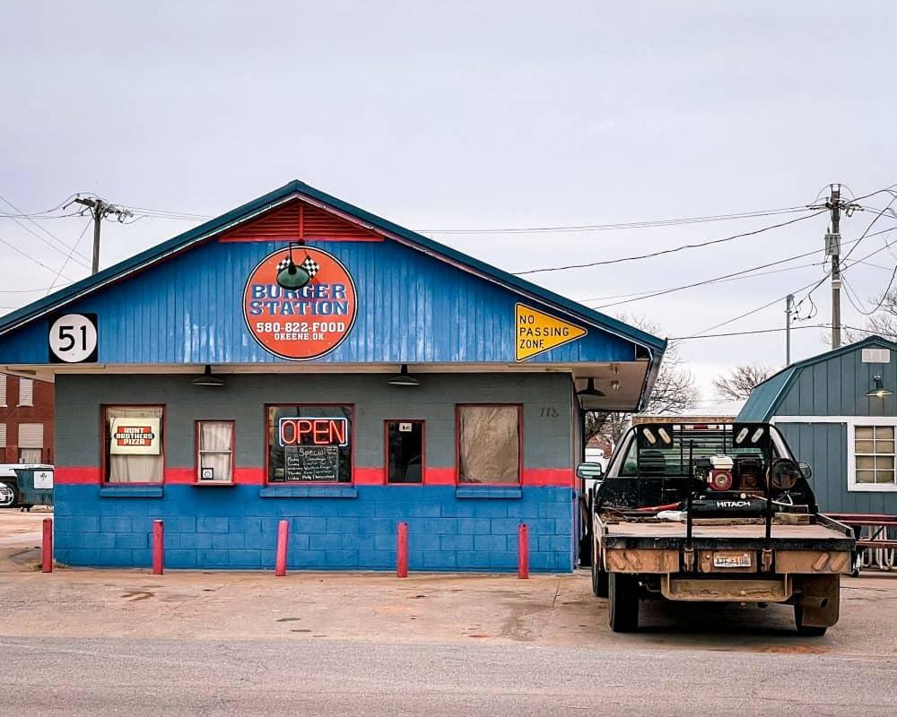 Oklahoma - Okeene- Burger Station