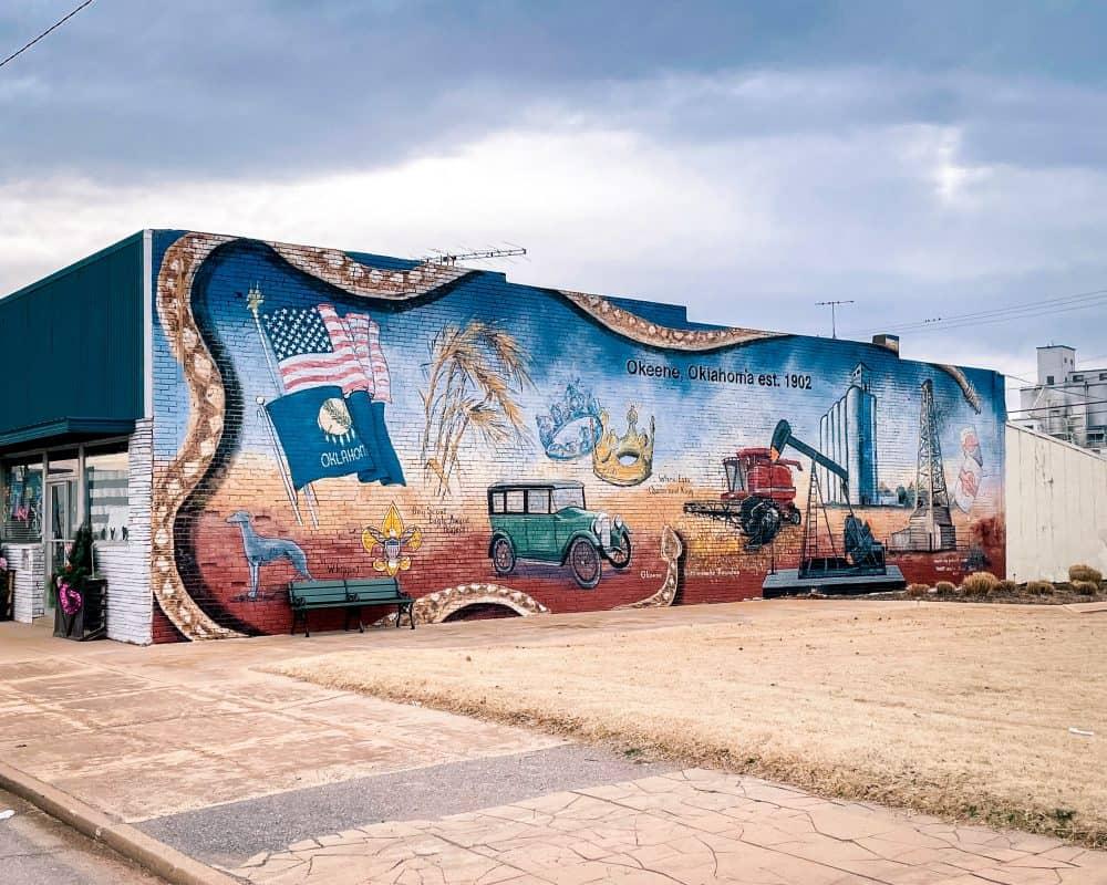 Oklahoma - Okeene - Okeene Mural