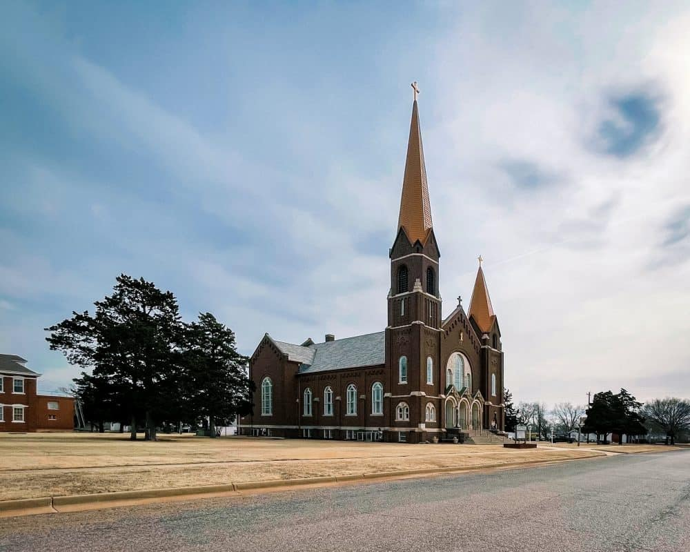 Oklahoma - Okeene - St. Anthony's Catholic Church