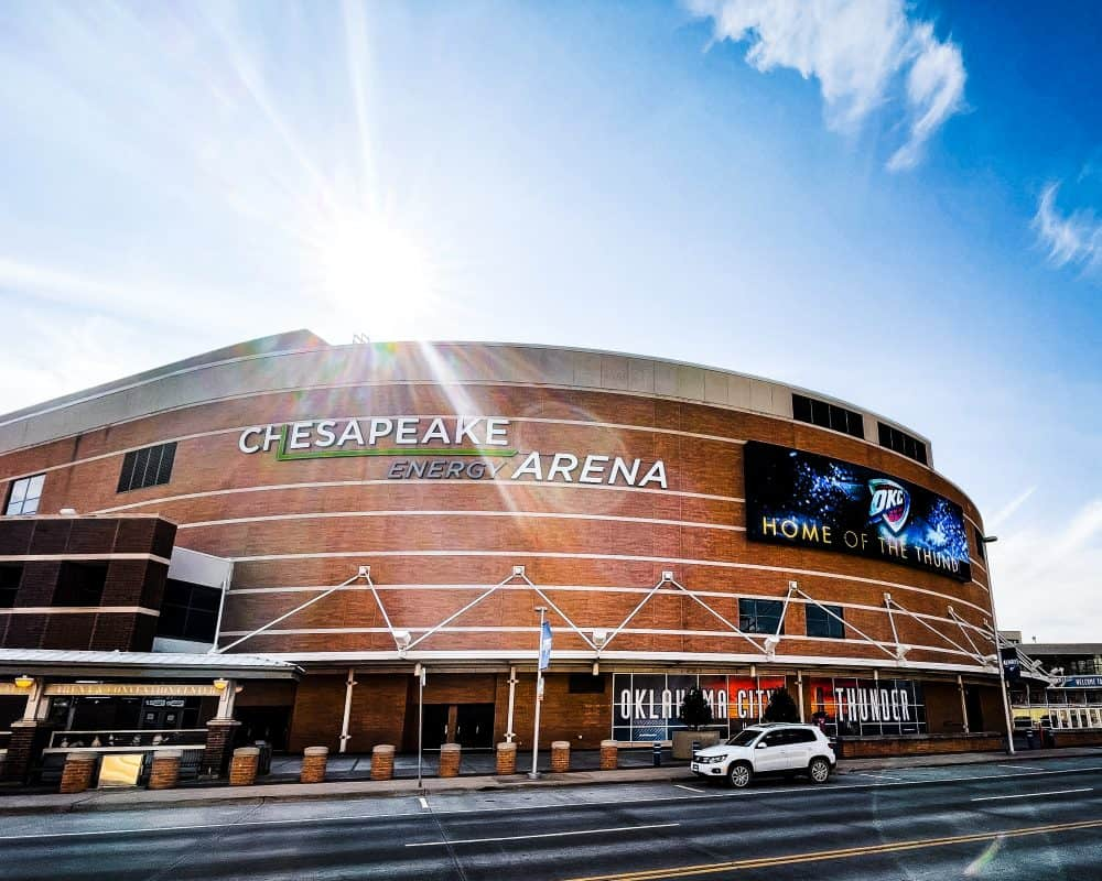 Oklahoma - Oklahoma City - Chesapeake Energy Arena