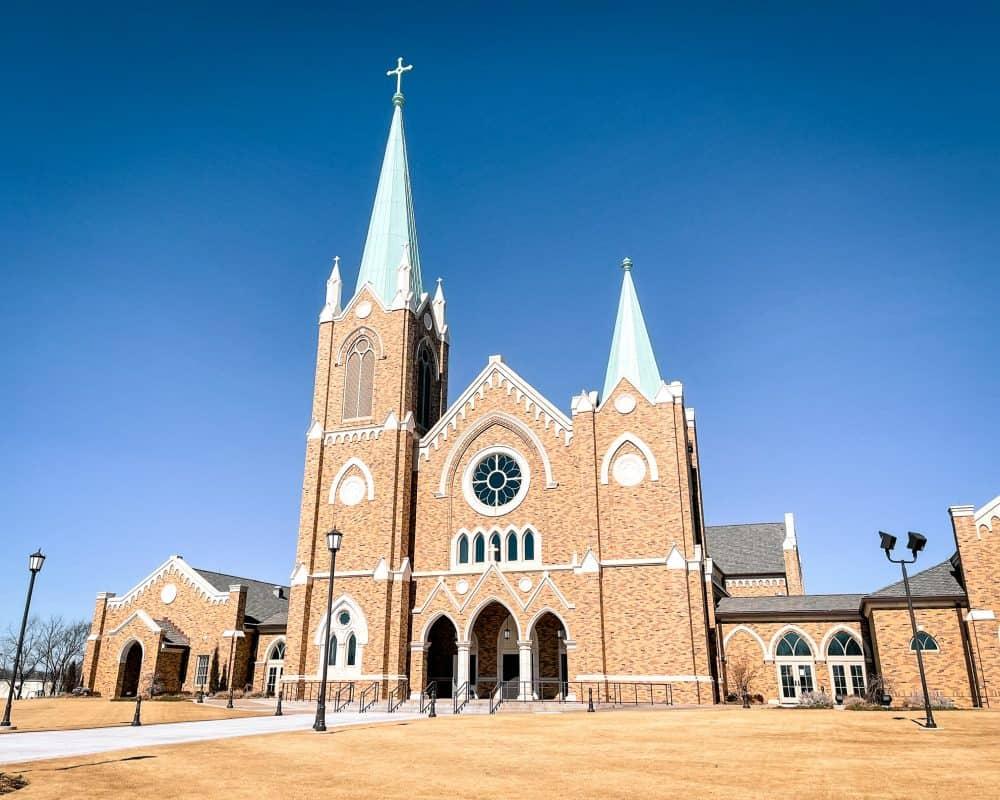 Oklahoma - Stillwater - St. Francis Xavier Catholic Church