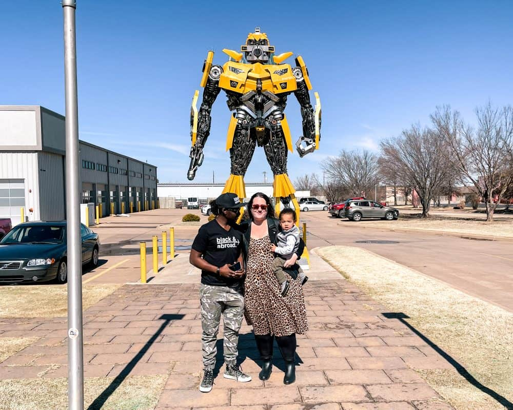 Oklahoma - Stillwater - Bumblebee Transformer