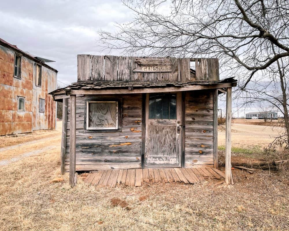 Oklahoma - Ingalls - General Store