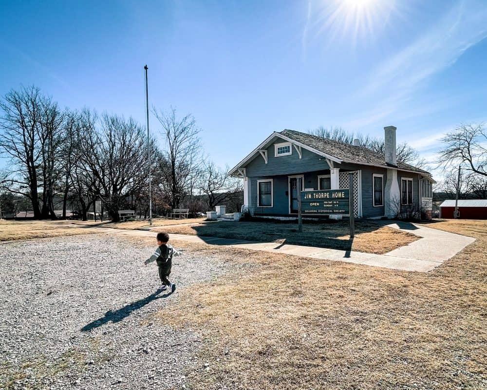 Oklahoma - Yale - Jim Thorpe Home - Jordan