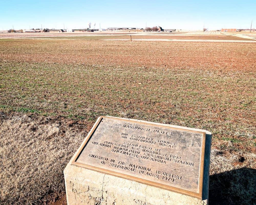 Oklahoma - Stillwater - Magruder Plots