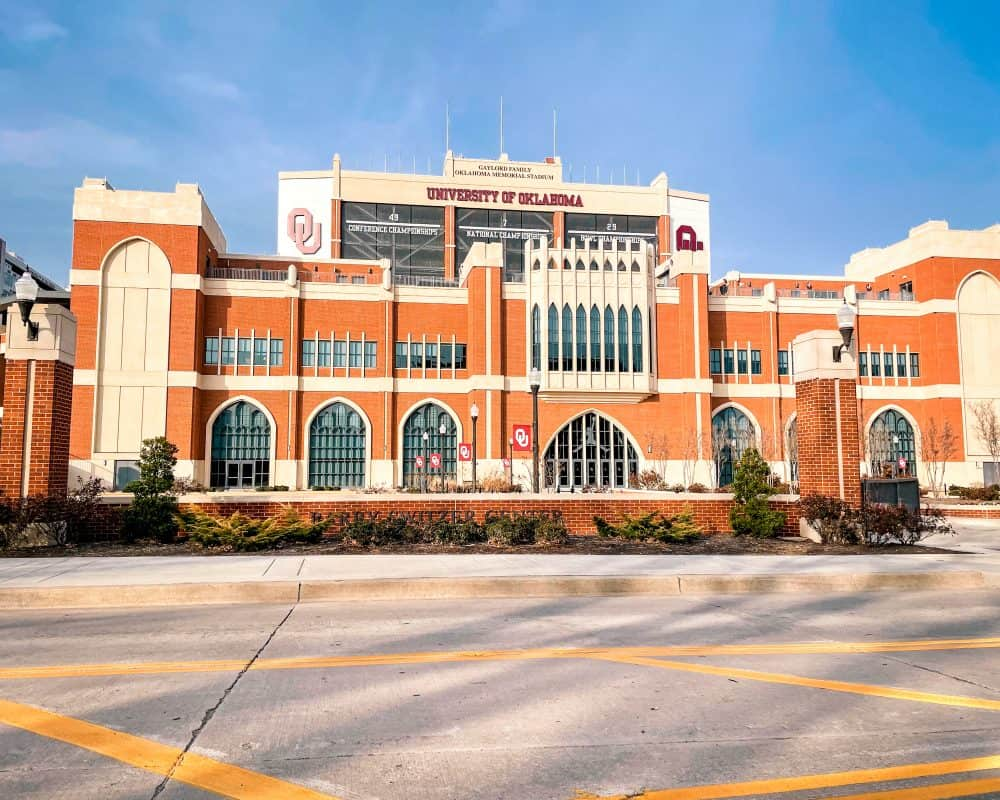 Oklahoma - Norman - University of Oklahoma Stadium