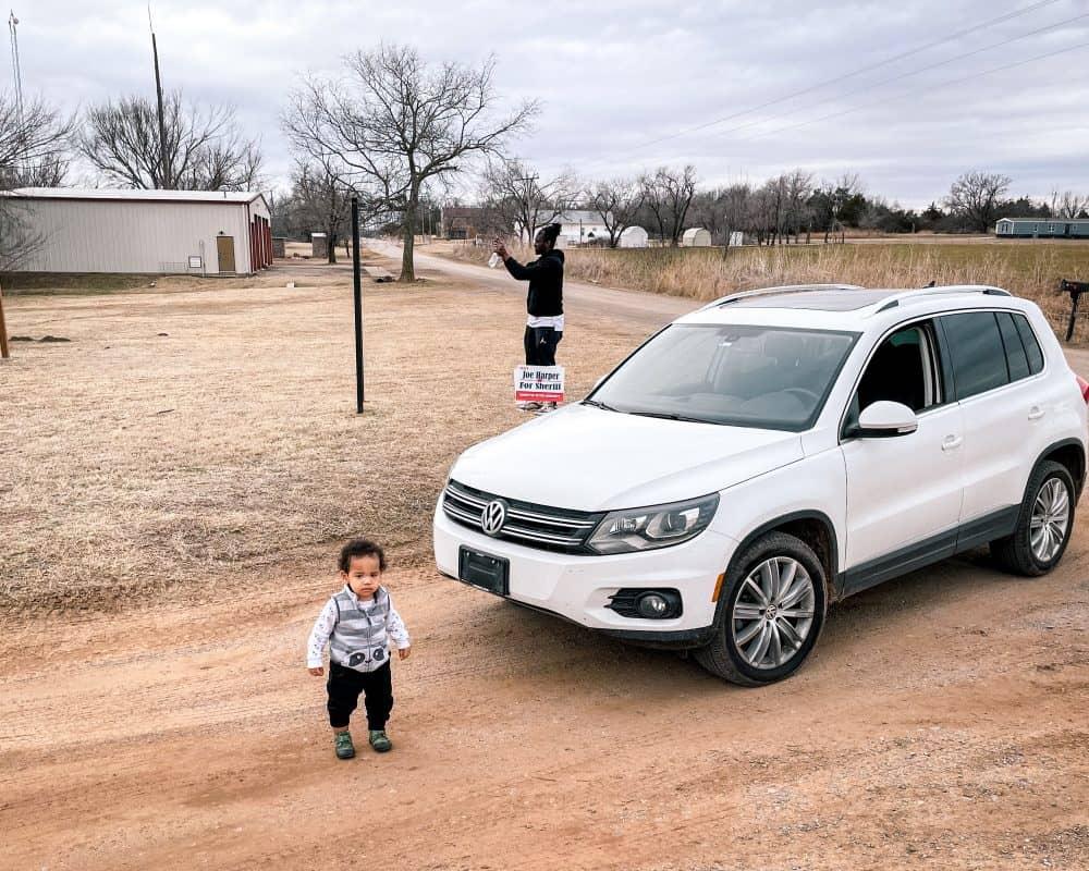 Oklahoma - Ingalls - The Battle of Ingalls Sign Jordan and Valentine