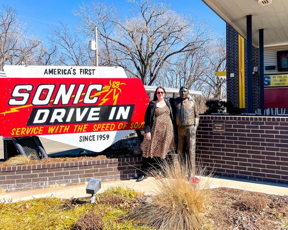 Oklahoma - Stillwater - America's First Sonic Drive In