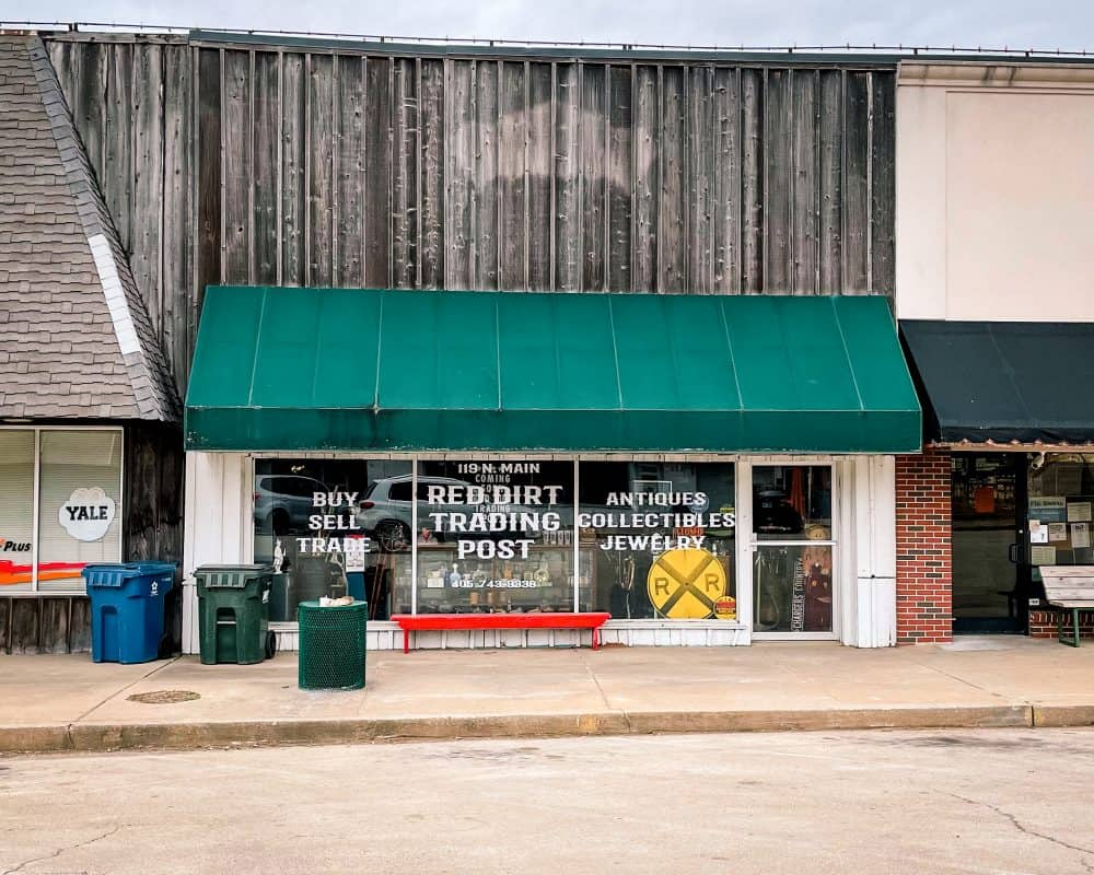 Oklahoma - Yale - Red Dirt Trading Post