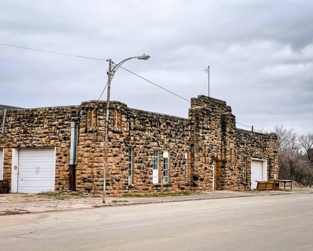 Oklahoma - Yale - Armory Building