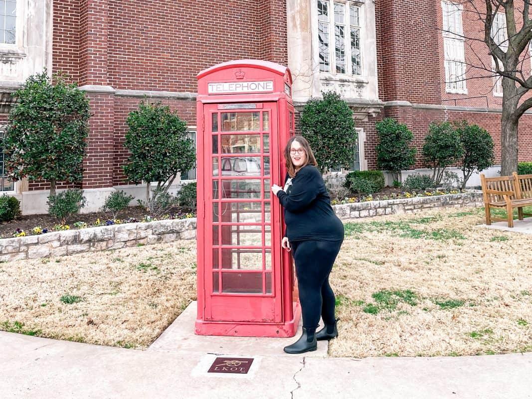 Oklahoma - Norman - OU Telephone Booth