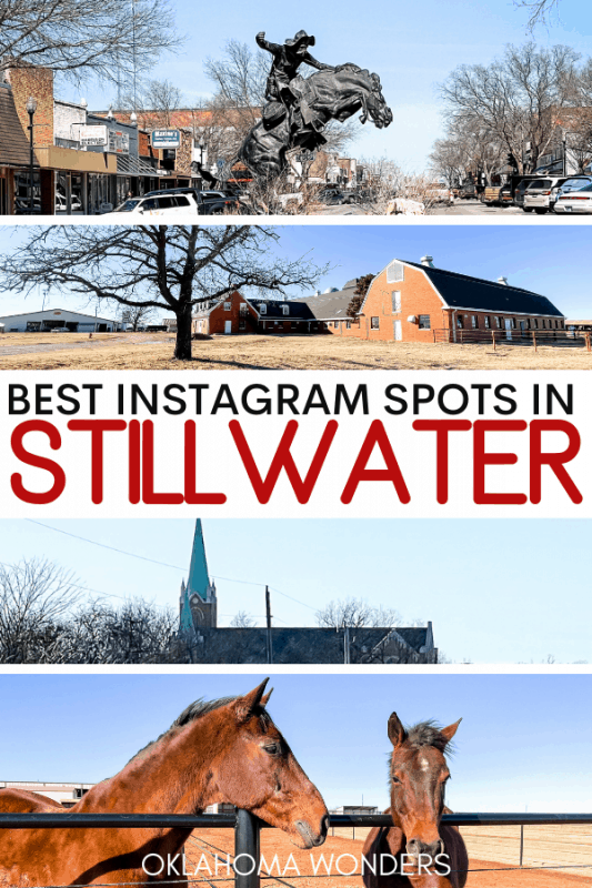 Most Instagrammable Places in Stillwater Oklahoma