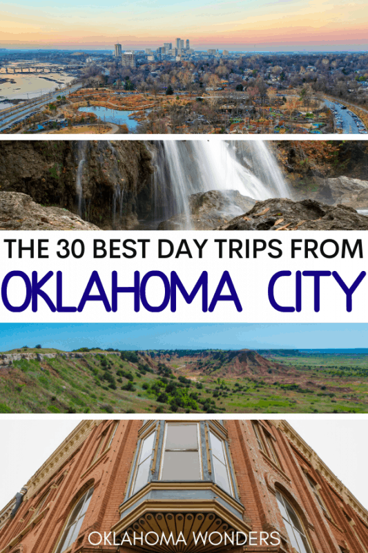 Day Trips from Oklahoma City Oklahoma Day Trips