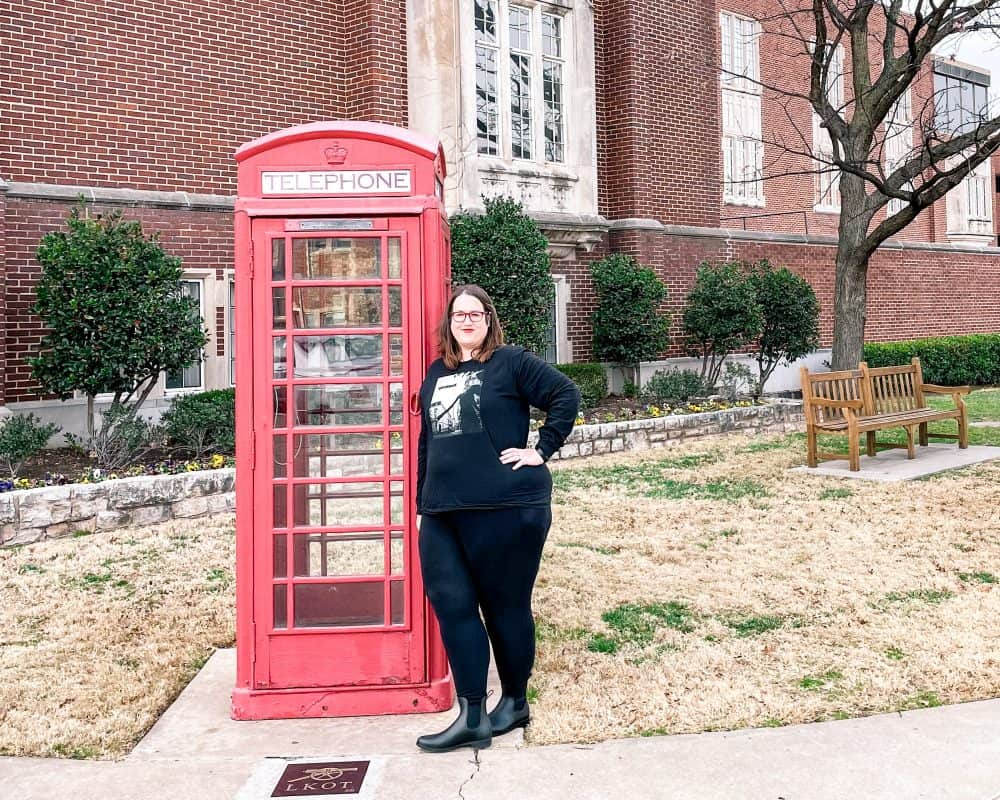 Oklahoma - Norman - OU Telephone Booth