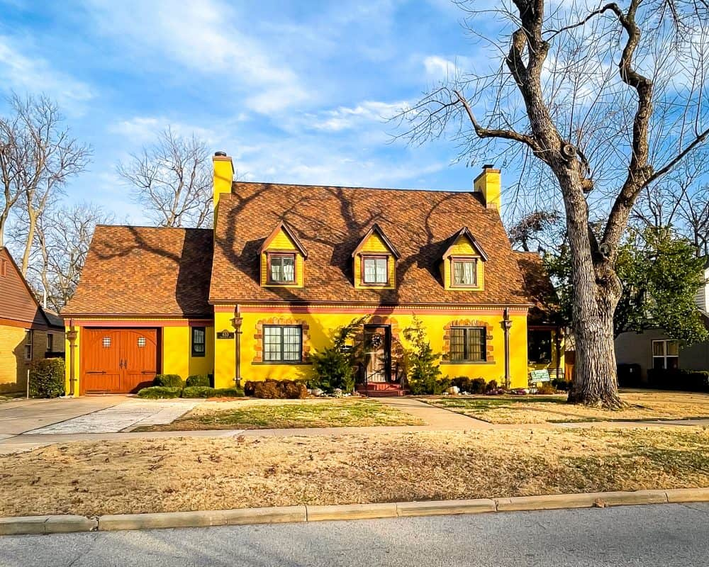 Oklahoma - Norman - Yellow House