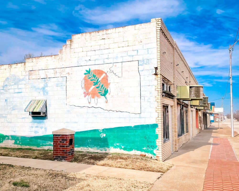 Oklahoma - Shidler - Oklahoma Mural