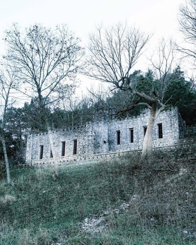 Oklahoma - Davis - Collings Castle at Turner Falls