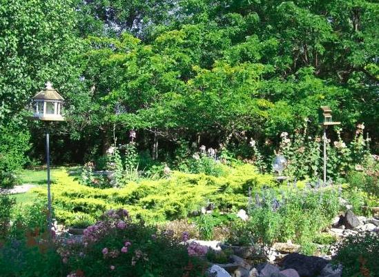 Oklahoma - Shidler - Bivin Garden