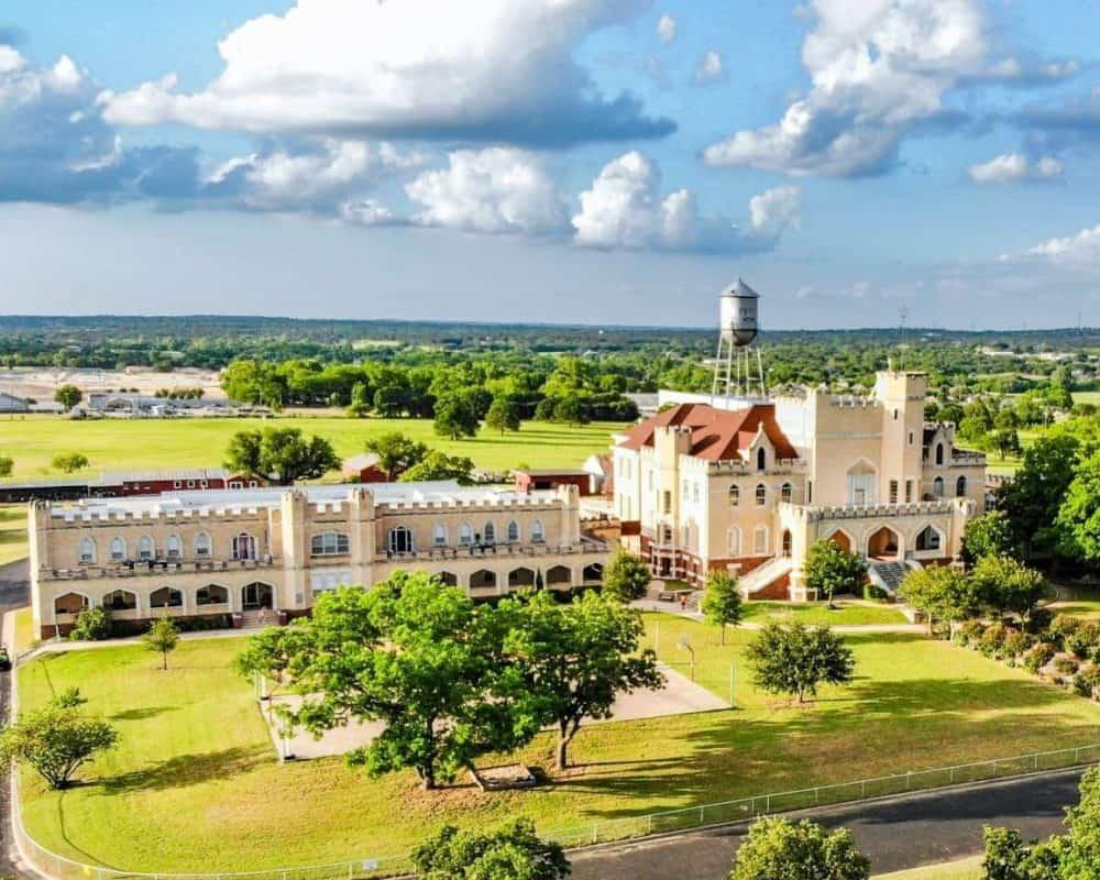 Texas Castles - Texas Pythian Home