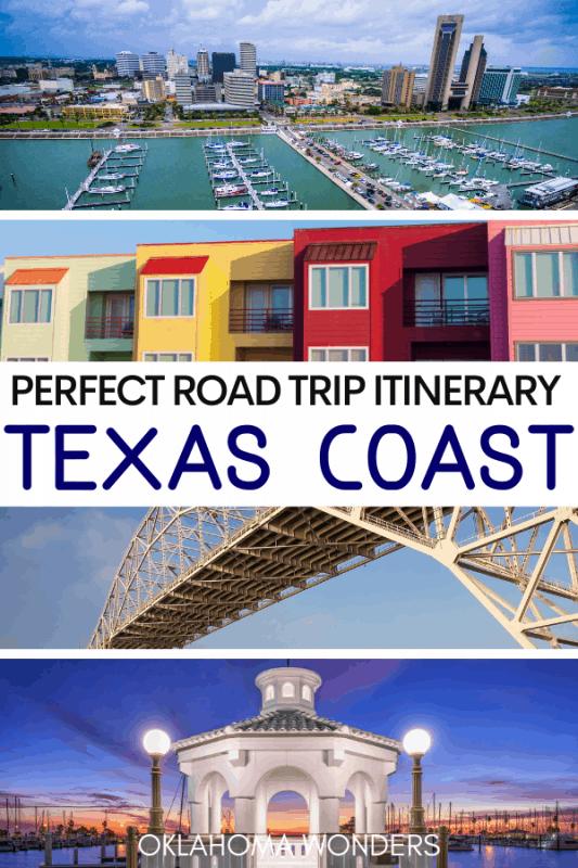 Texas Coast Road Trip Itinerary