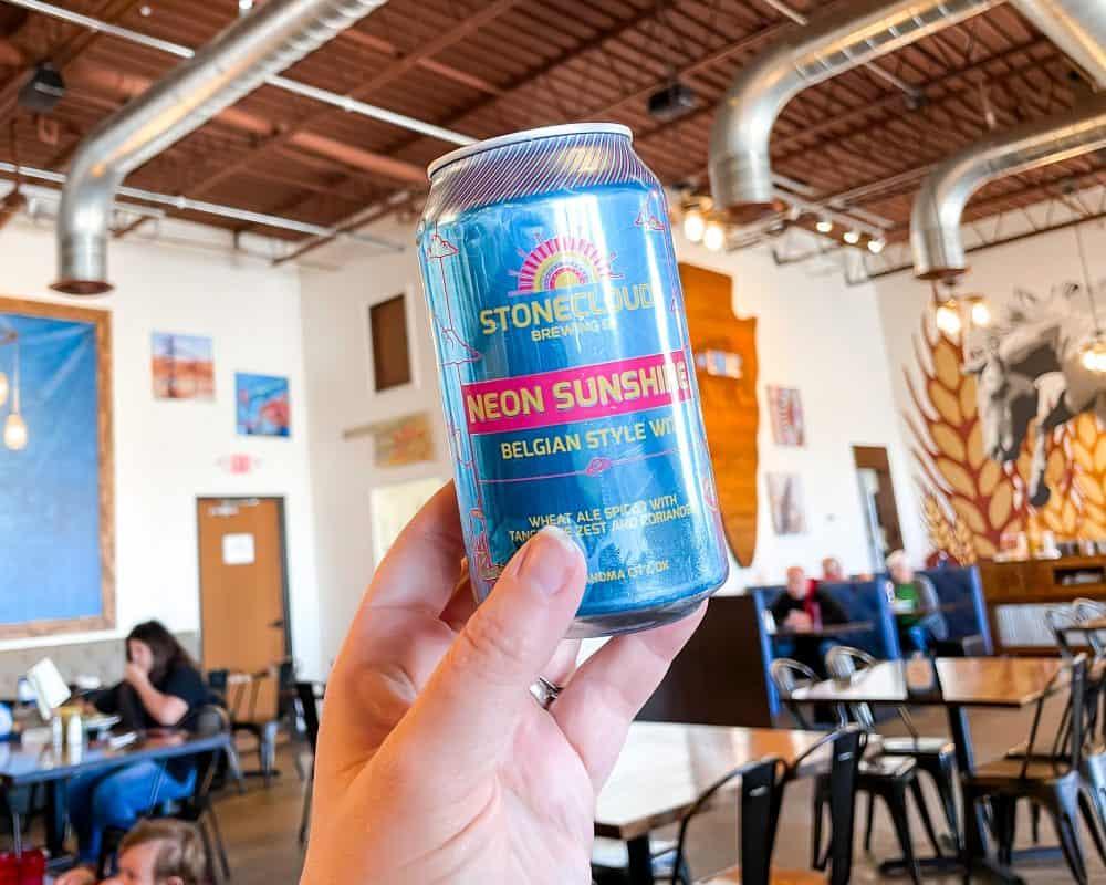 Oklahoma - Yukon - The Lokal - Stonecloud Neon Sunshine Oklahoma Local Brewed Beer