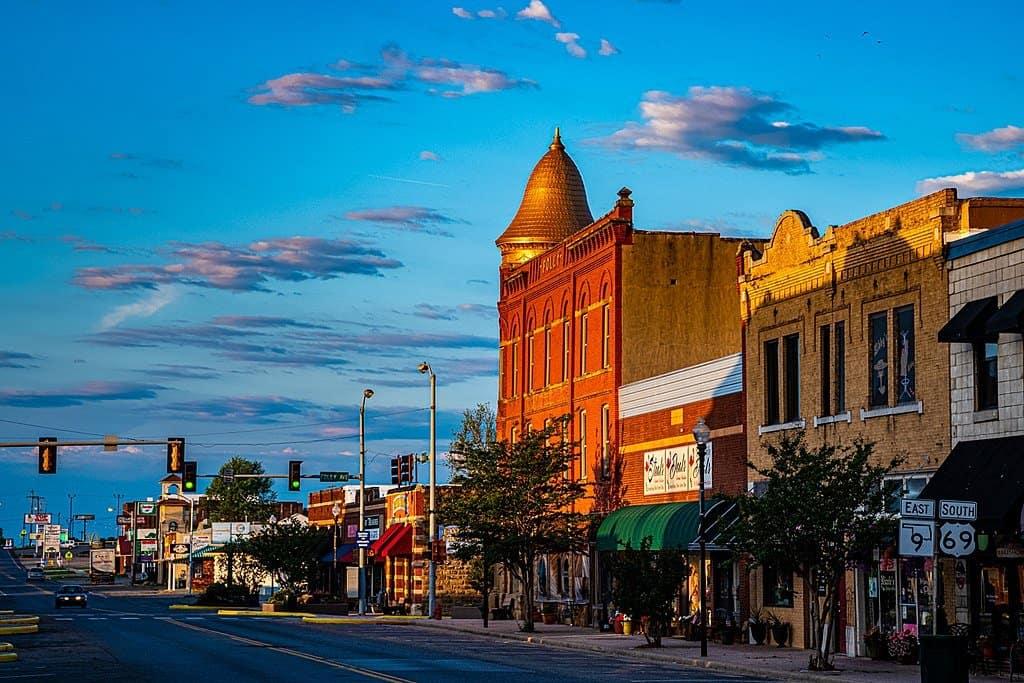 Oklahoma - Eufala - Downtown