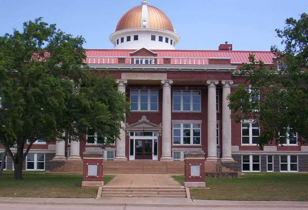 Oklahoma - Lawton - Old Lawton High School