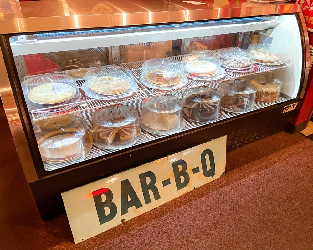 Oklahoma - Guthrie - Downtown Guthrie - Stables Cafe - Pie Counter