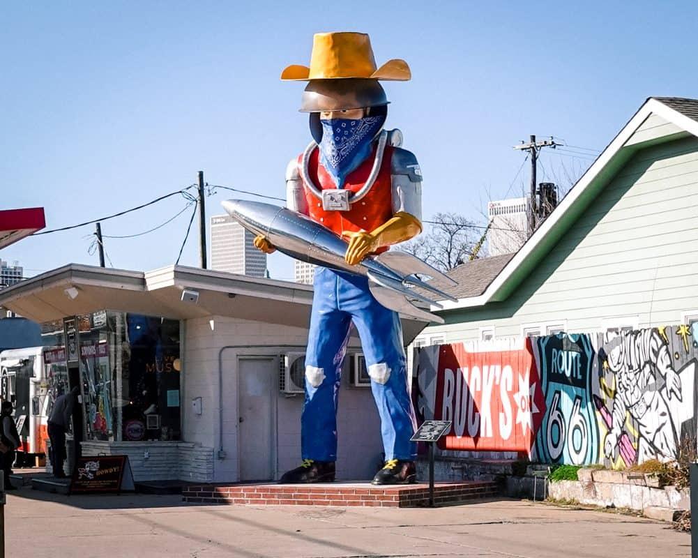 Oklahoma - Tulsa - Route 66 - Buck Atom