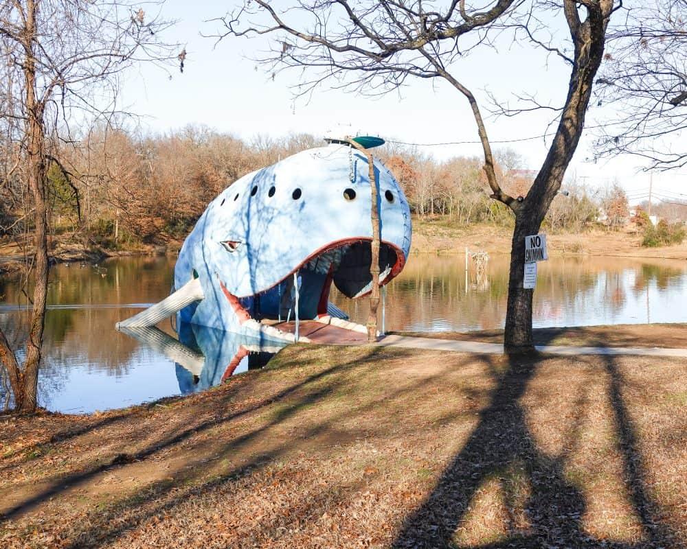Oklahoma - Catoosa - Blue Whale of Catoosa