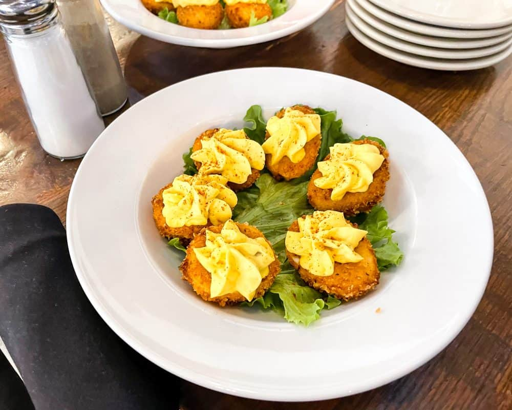Oklahoma - Yukon - The Lokal - Fried Deviled Eggs