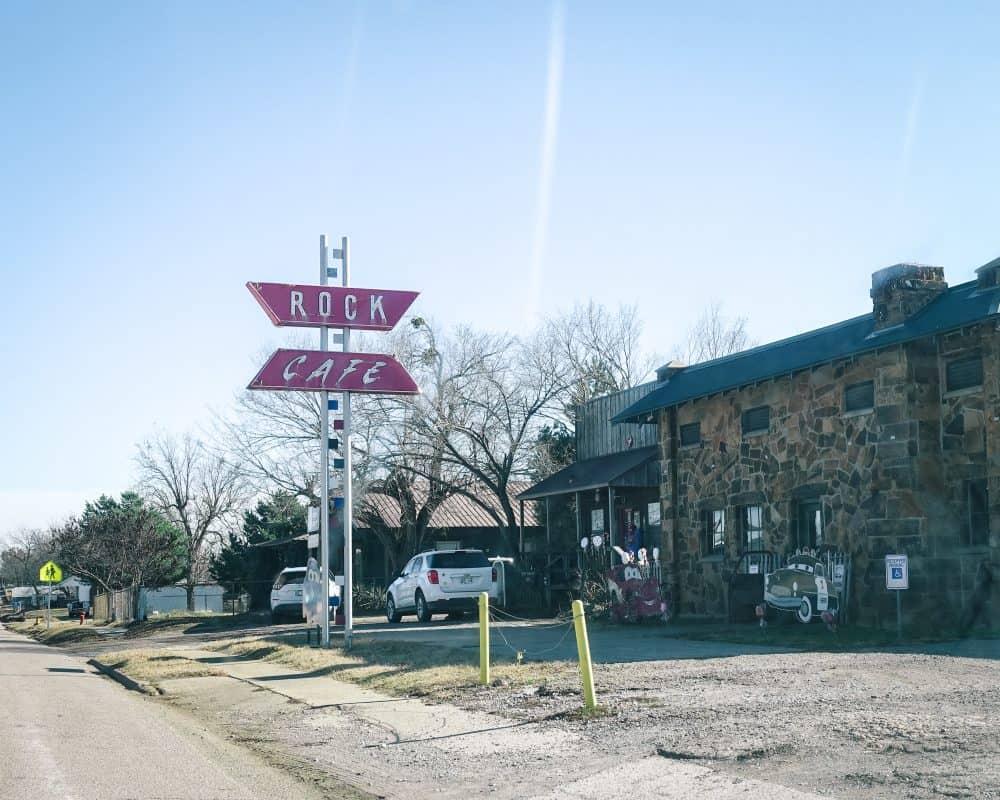 Oklahoma - Stroud - Rock Cafe