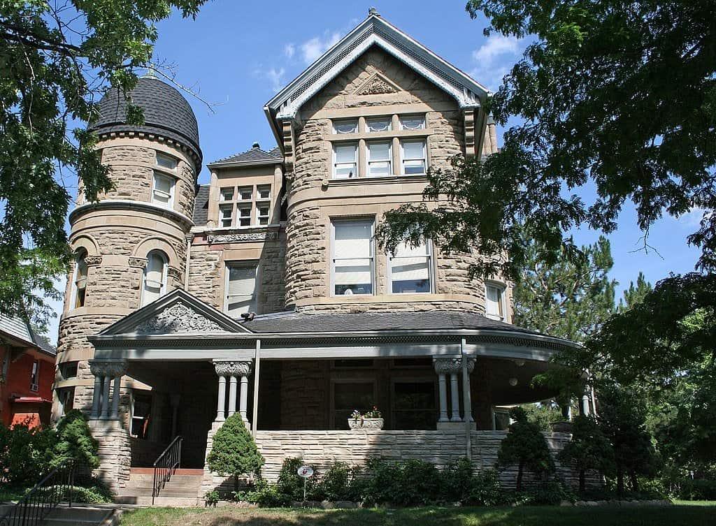 Colorado - Denver - Bailey House Castle