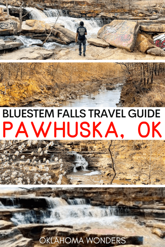 Bluestem Falls Pawhuska Oklahoma
