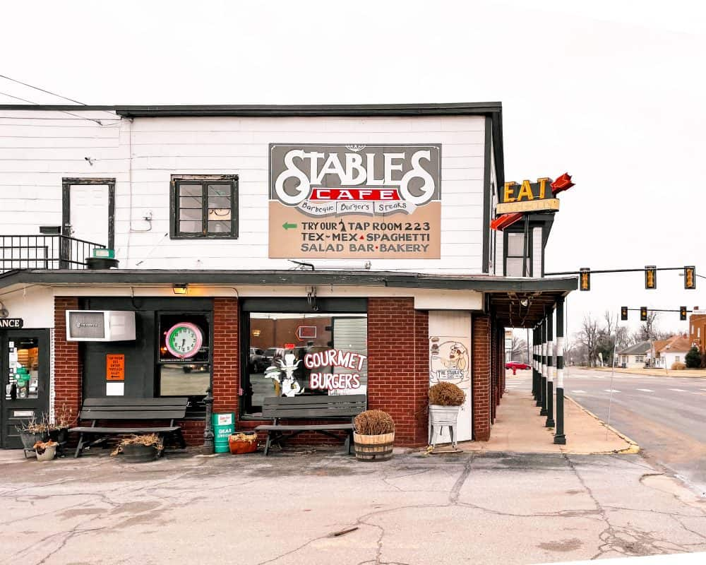 Oklahoma - Guthrie - Downtown Guthrie - Stables Cafe