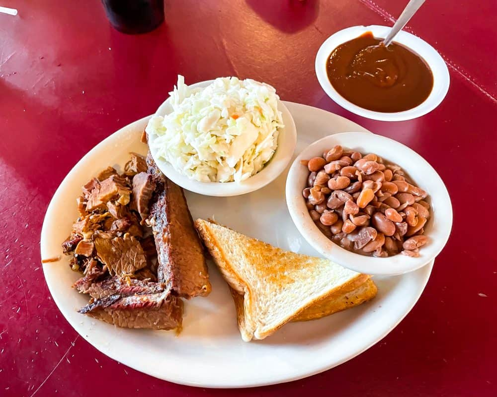 Oklahoma - Guthrie - Downtown Guthrie - Stables Cafe BBQ Lunch
