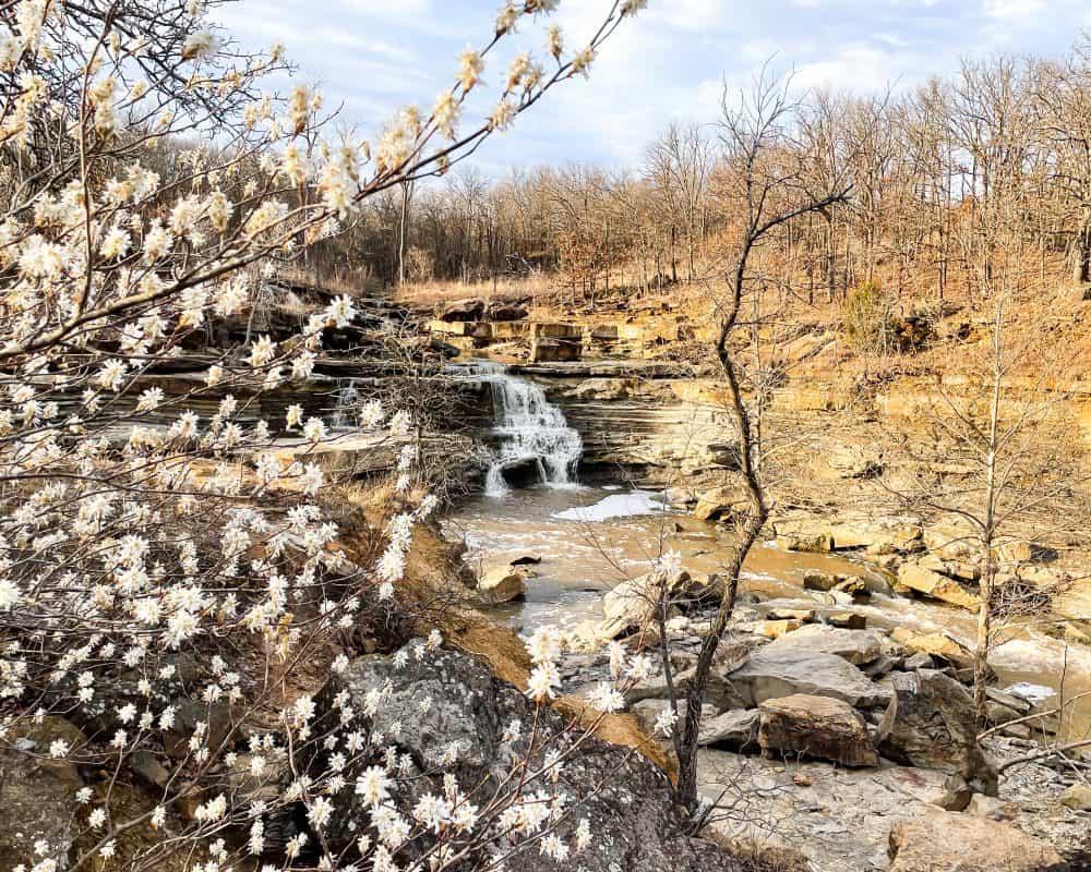 Oklahoma - Pawhuska - Bluestem Falls in Spring