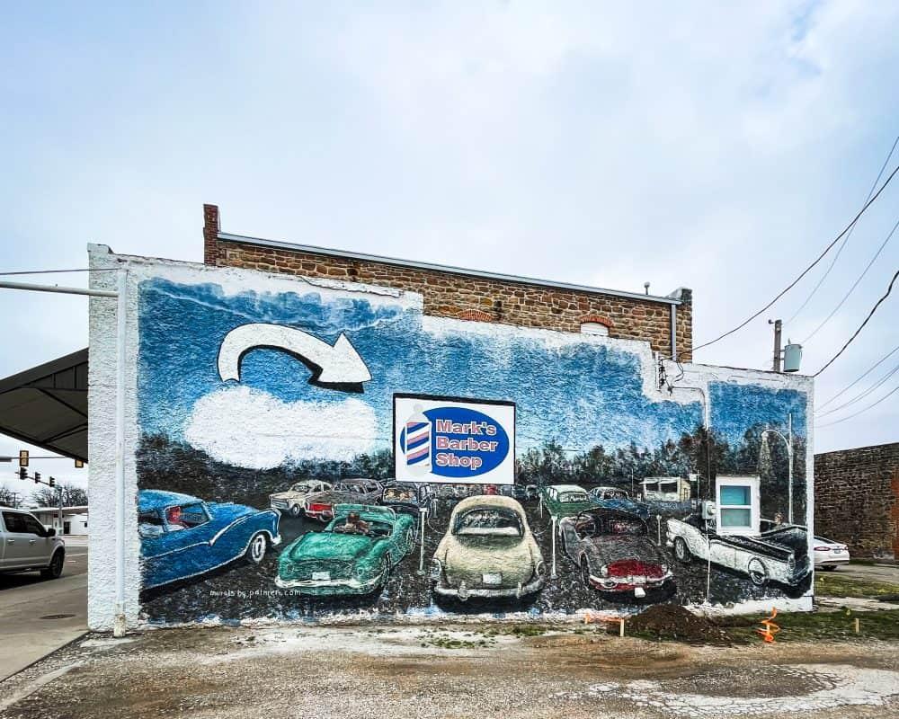 Oklahoma - Prague - Murals