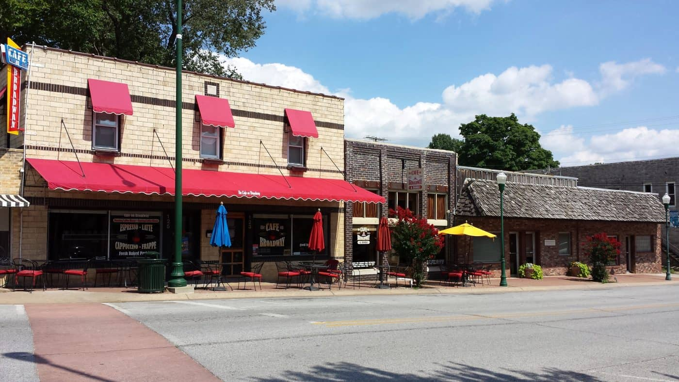 Arkansas - Siloam Springs - Downtown Siloam Springs