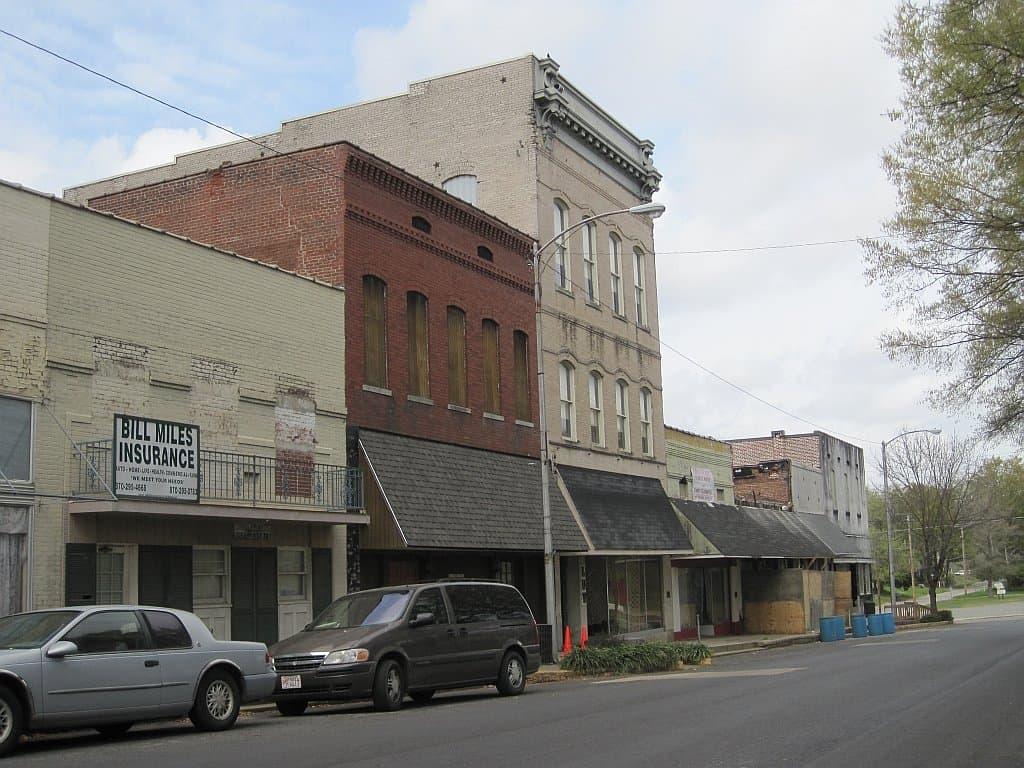 Arkansas - Mariana - Mariana Historic District Downtown