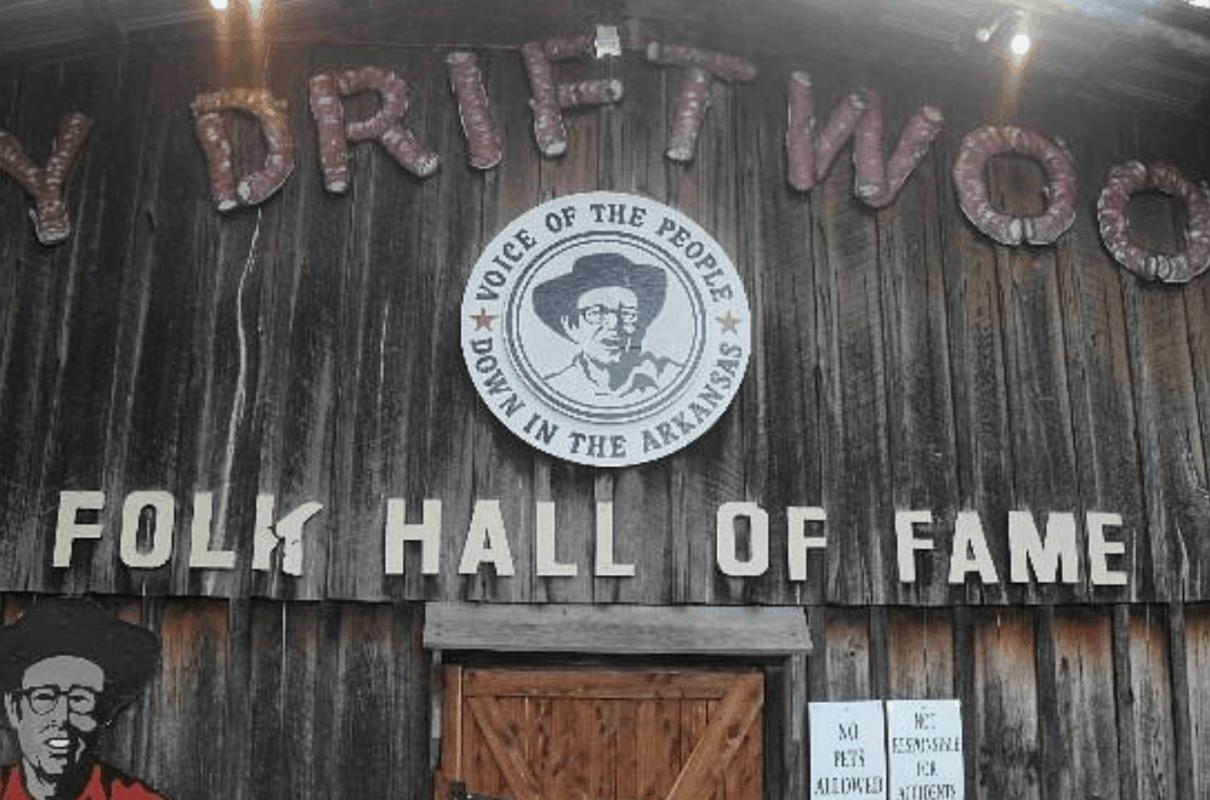 Arkansas - Mountain View - Jimmy Driftwood Barn