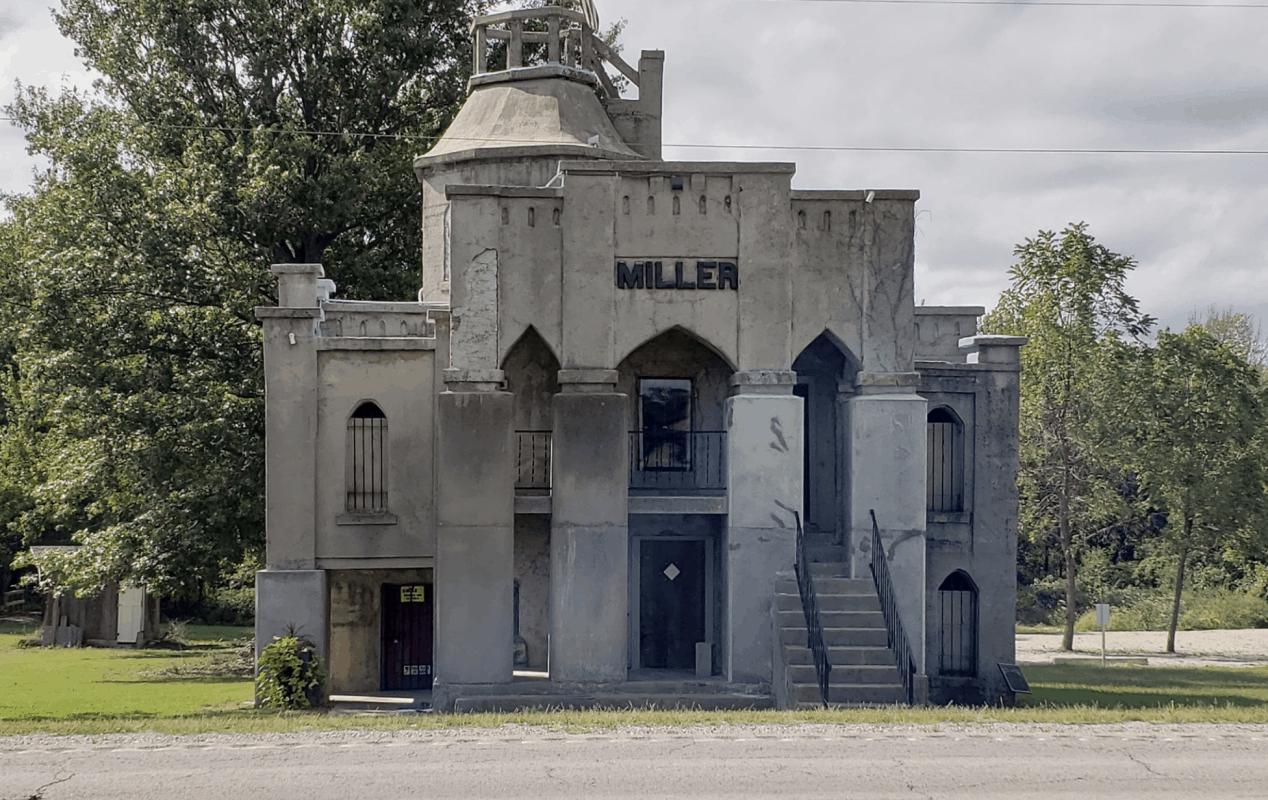 Missouri - Holden - Miller Mausoleum