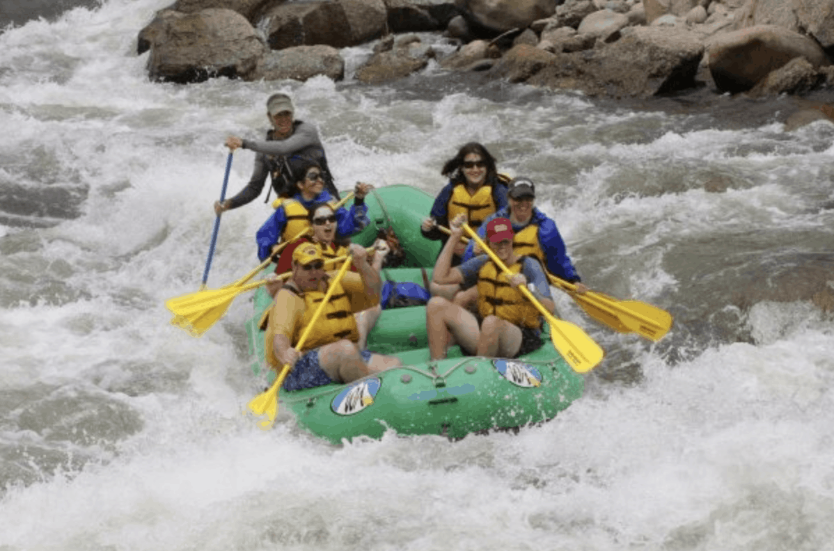 Colorado - Whitewater Rafting on the Colorado River near Buena Vista