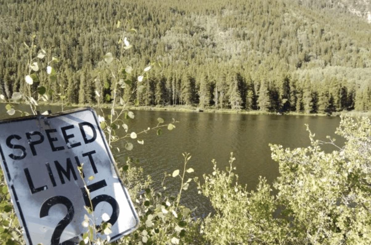 Colorado - Buena Vista - Rainbow Lake Resort in the Rocky Mountains
