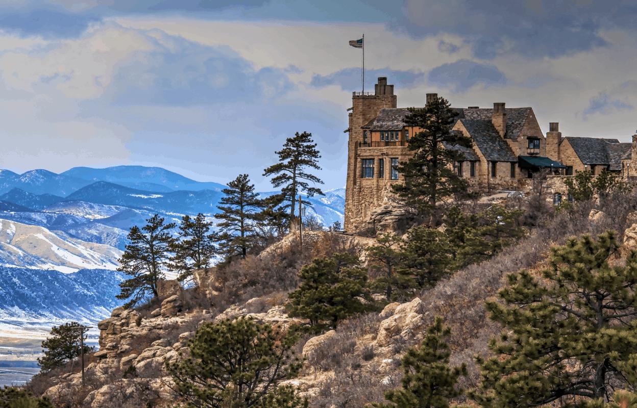 Colorado - Sedalia - Cherokee Ranch Castle