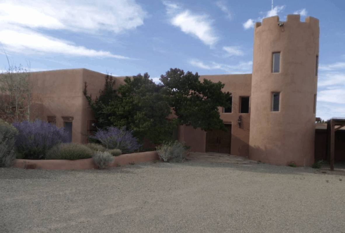 New Mexico - Santa Fe - Tano Castle