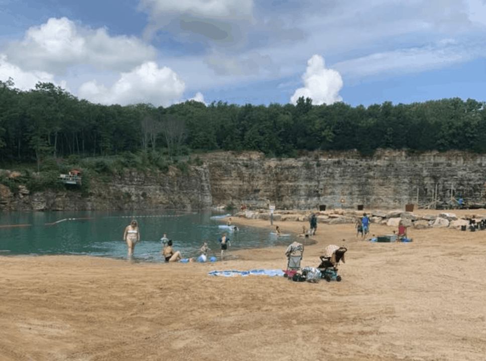 Missouri - Rolla - Fugitive Beach