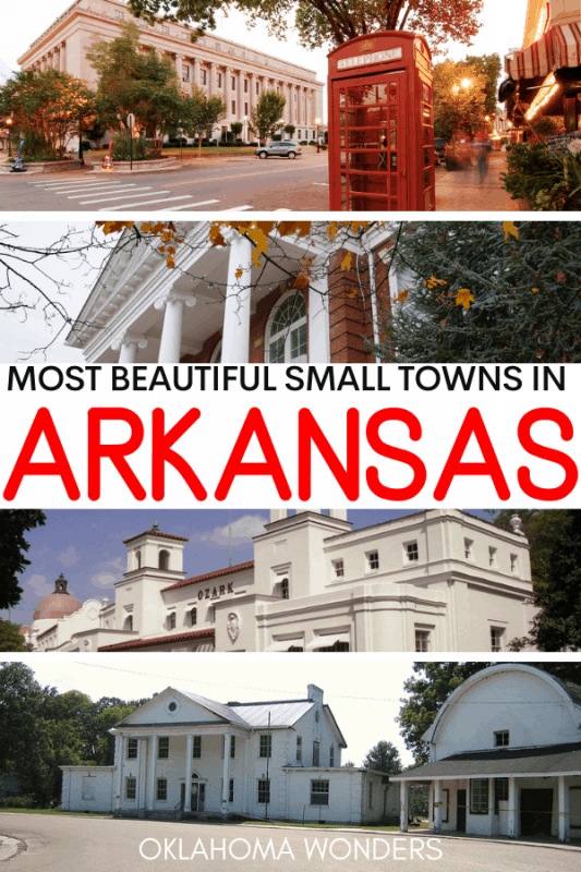 Best Small Towns in Arkansas