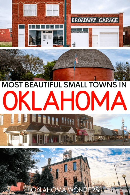 Best Small Towns in Oklahoma