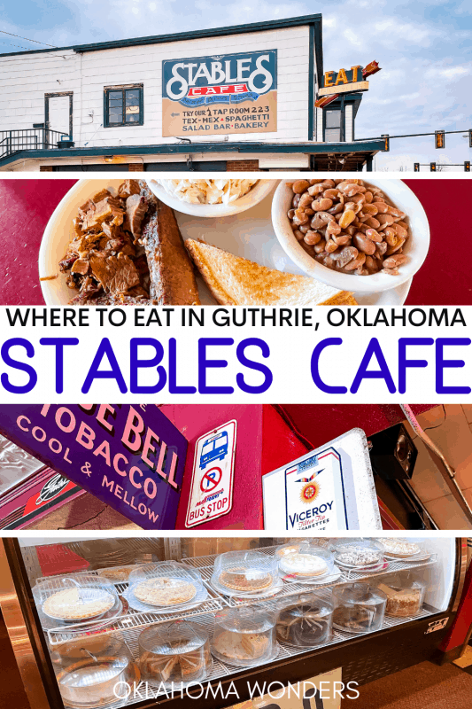 Stables Cafe Guthrie Restaurant Review